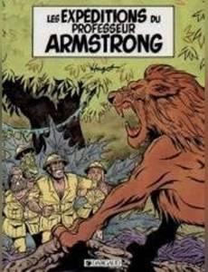 Couverture de l'album Les Expéditions du professeur Armstrong (Humour)