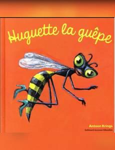 Couverture de l'album Huguette la Guêpe