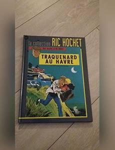 Couverture du premier album de la série Traquenard au Havre