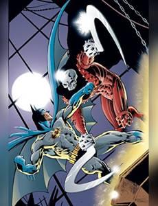 Couverture du premier album de la série Batman - Collection Privilège Semic