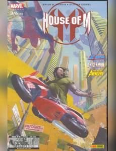 Couverture du premier album de la série House Of M