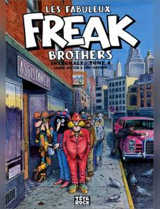 Couverture de l'album Les Fabuleux Freak Brothers