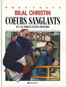 Couverture du premier album de la série Coeurs Sanglants et Autres Faits Divers