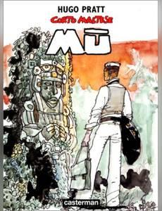 Couverture du premier album de la série Corto Maltese