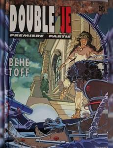 Couverture du premier album de la série Double je
