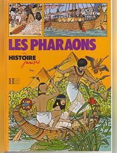 Couverture de l'album Les Pharaons (Histoire juniors)