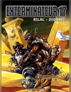 Couverture du premier album de la série Exterminateur 17