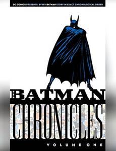 Couverture du premier album de la série Les Chroniques de Batman