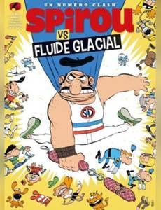 Couverture de l'album Spirou vs Fluide Glacial