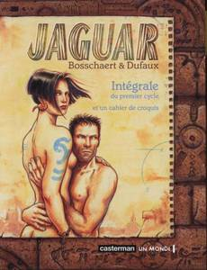 Couverture du premier album de la série Jaguar