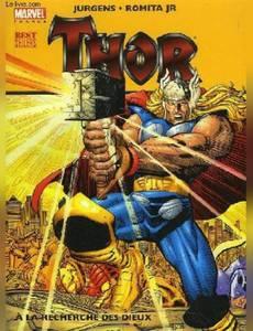 Couverture du premier album de la série À la recherche des dieux (Thor)