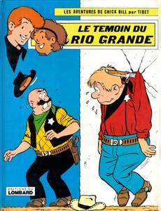 Couverture de l'album Le Témoin du Rio Grande
