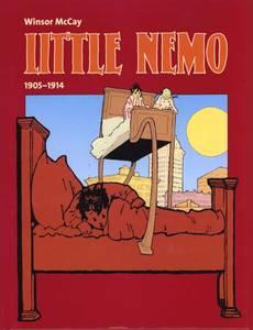 Couverture du premier album de la série Little Nemo