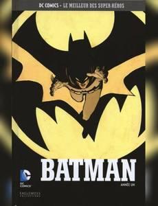 Couverture de l'album Batman – Année Un