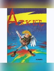 Couverture du premier album de la série Arkel