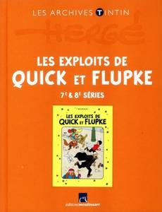 Couverture de l'album Les Exploits de Quick et Flupke - 7e & 8e séries