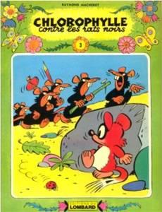 Couverture de l'album Chlorophylle contre les rats noirs