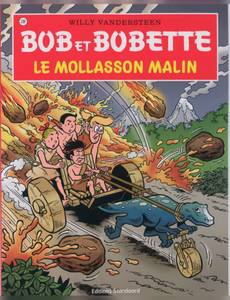 Couverture de l'album Le mollasson malin