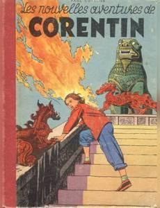 Couverture de l'album Les Nouvelles Aventures de Corentin