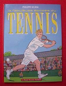 Couverture du premier album de la série La fabuleuse épopée du tennis