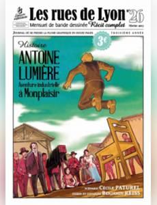 Couverture de l'album Antoine Lumière