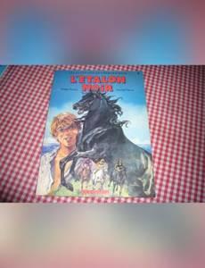 Couverture du premier album de la série Les Aventures de l'Etalon Noir