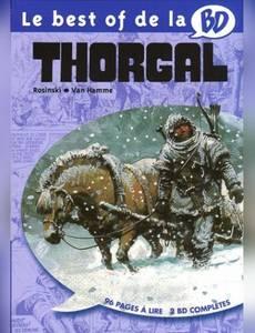 Couverture de l'album Le best of de la BD  - Thorgal