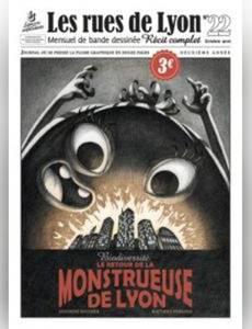 Couverture de l'album Le retour de la monstrueuse de Lyon