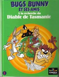 Couverture du premier album de la série Bugs Bunny et ses amis