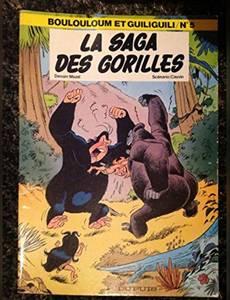 Couverture du premier album de la série Boulouloum et Guiliguili / Les jungles perdues