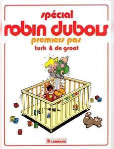 Couverture du premier album de la série Robin Dubois