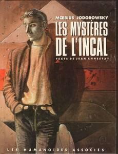 Couverture du premier album de la série Les Mystères de l'Incal