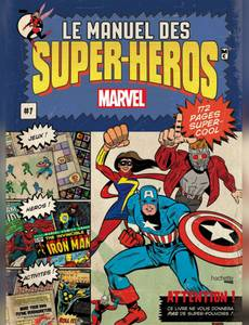 Couverture du premier album de la série Le manuel des super-héros