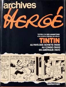 Couverture de l'album Archives Hergé