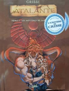 Couverture du premier album de la série Atalante