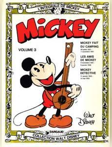 Couverture du premier album de la série L'Intégrale de Mickey