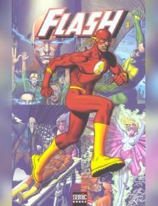 Couverture du premier album de la série Flash