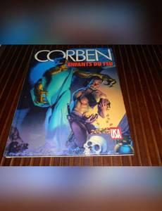 Couverture de l'album Corben Enfant du Feu