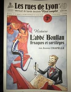 Couverture de l'album L'abbé Boullan, Arnaques et sortilèges