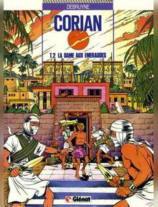 Couverture du premier album de la série Corian