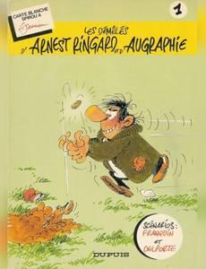 Couverture de l'album Les démêlés d'Arnest Ringard et d'Augraphie