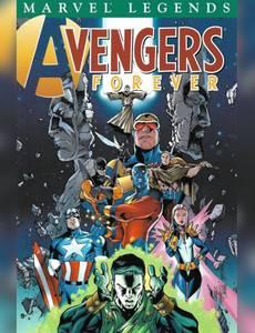 Couverture du premier album de la série Avengers Forever