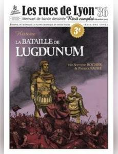 Couverture de l'album La bataille de Lugdunum