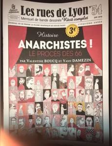 Couverture de l'album Anarchistes! Le procès des 66