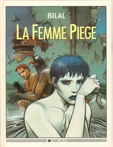 Couverture du premier album de la série La femme piège