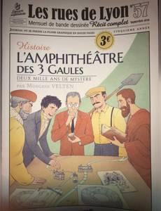 Couverture de l'album L'amphithéâtre des 3 gaules
