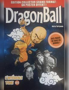 Couverture du premier album de la série Dragon Ball - L'intégrale Grand Format