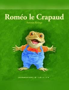 Couverture de l'album Roméo le Crapaud
