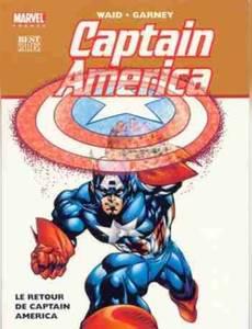 Couverture de l'album Captain America - Le retour de Captain America