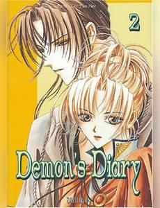 Couverture du premier album de la série Demon's Diary